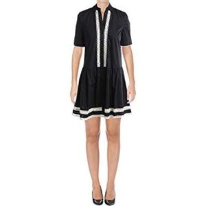 Kate Spade Brooke Street Black Shirt Dress